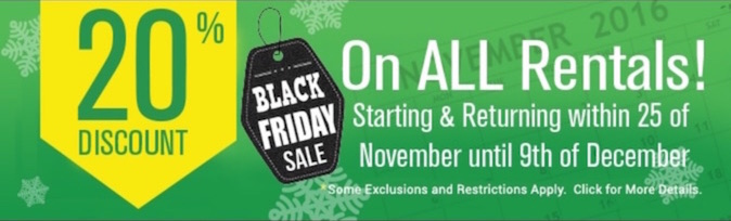 Black Friday Banner Promotion