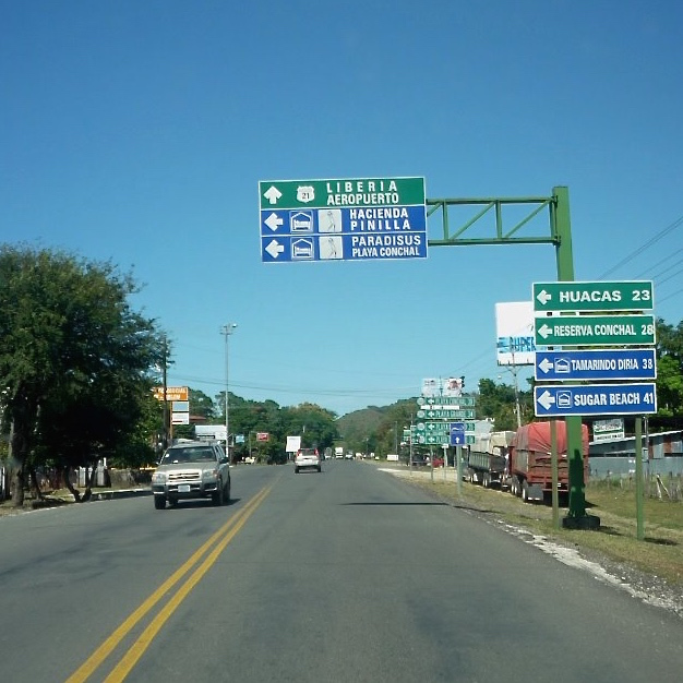 To Liberia via Route 21