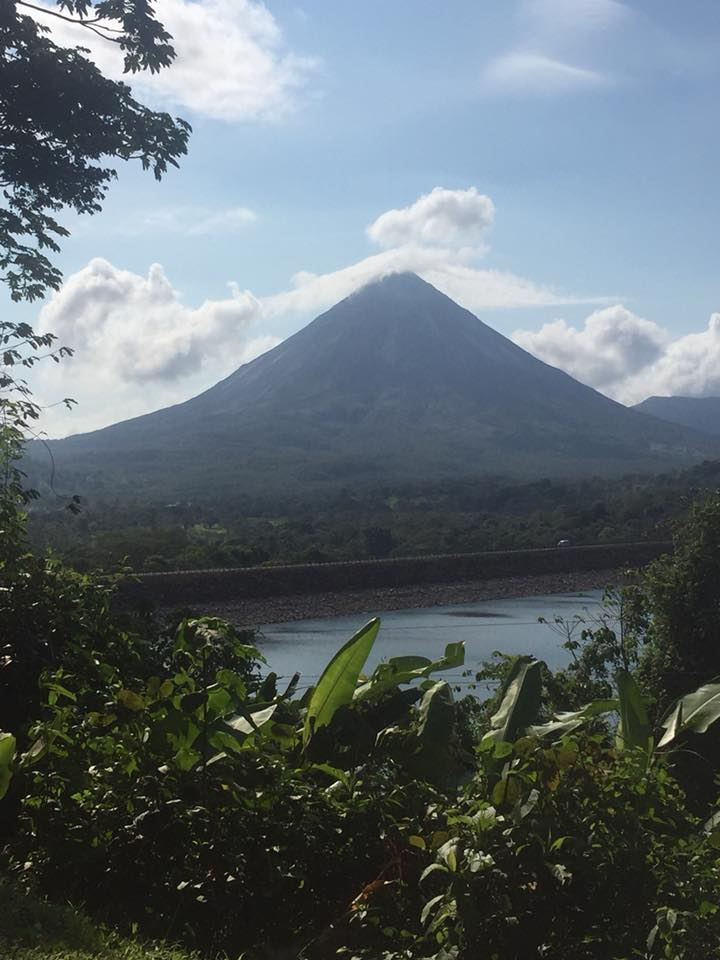 Arenal Volcano by Donna Monson