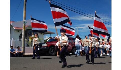 Costa Rica Parade