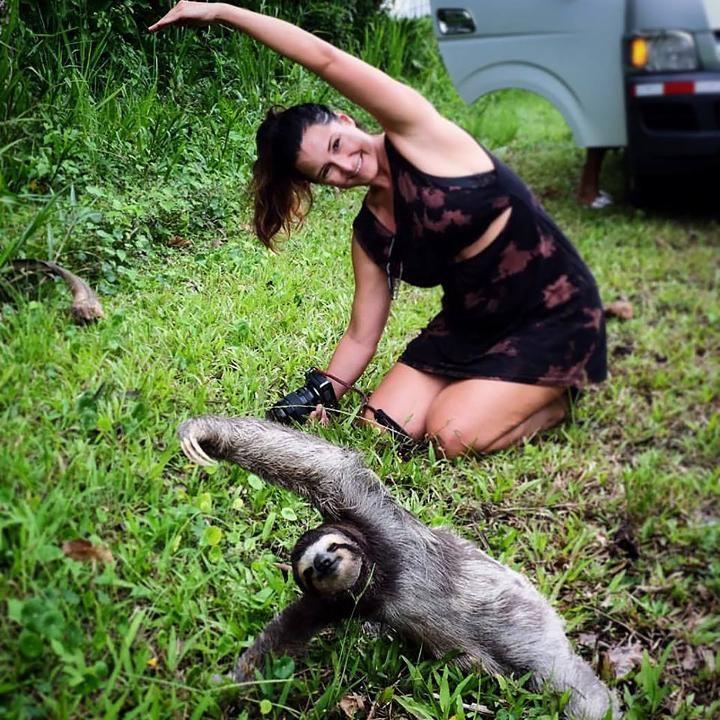 Sloth-Style Yoga