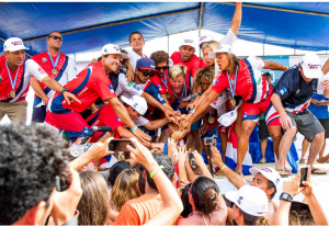 Winning Costa Rica Surf Team
