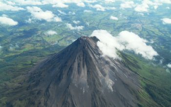 Costa Rica's famous Arenal volcano