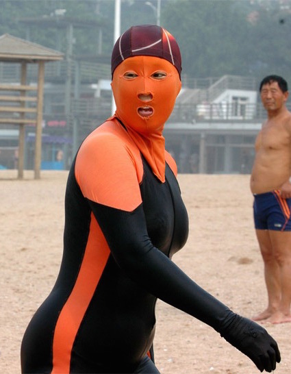 Facekini in China