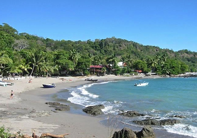 Beach at Montezuma, Costa Rica