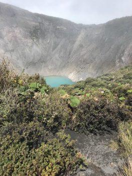 Irazu Volcanic Crater