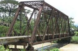 One-Lane Metal Bridge